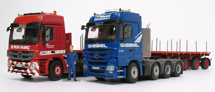 baumaschinen my collection mercedes benz nooteboom actros 2655 w ballast. Black Bedroom Furniture Sets. Home Design Ideas