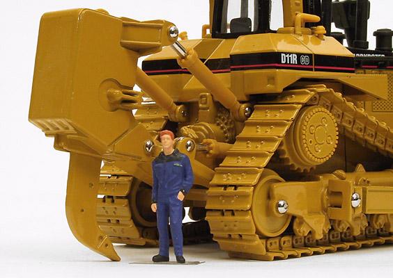 Baumaschinen-Modelle net - My collection - Caterpillar D11R CD
