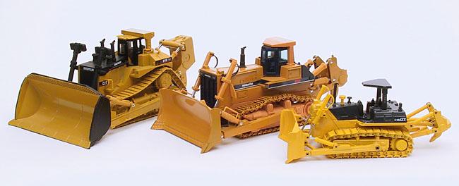 Baumaschinen-Modelle net - My collection - Komatsu D475A